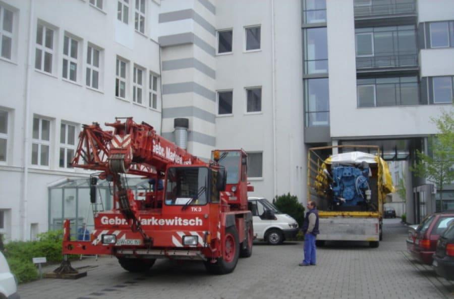 Maschinentransporte Nürnberg
